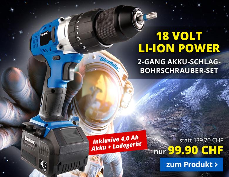 18 Volt Li-Ion Power